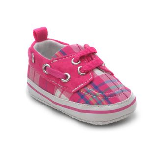 Blue Baby Girls P Leppy Tennis Shoes in Pink