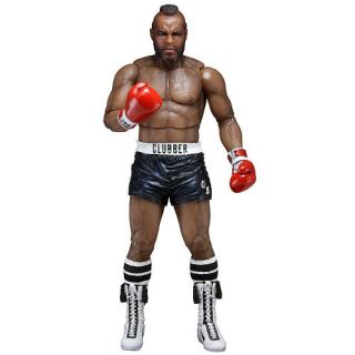 NECA Rocky 40th Anniversary Series 1 7 inch Action Figure   Clubber Lang with Black Trunks    NECA