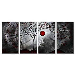 All My Walls Classic Beauty by Megan Duncanson 4 Piece Painting Print Plaque Set