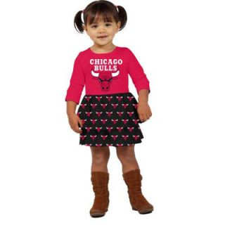 Klutch Chicago Bulls Toddler Girls Layered Dream Dress