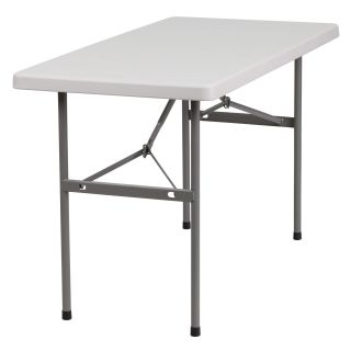 48 Rectangular Folding Table by Flash Furniture