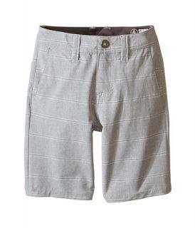 Volcom Kids SNT Mix Hybrid Shorts (Big Kids) Grey