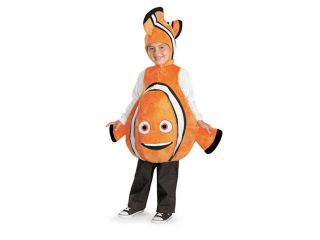 Boys Finding Nemo Deluxe Movie Costume Small 4 6
