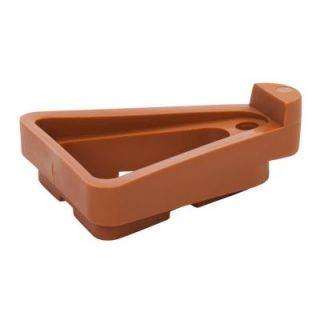 The Plant Stand 1.5 in. x 9 in. Terra Cotta Plastic Pot Toes (12 Pack) PTC 12TCHT