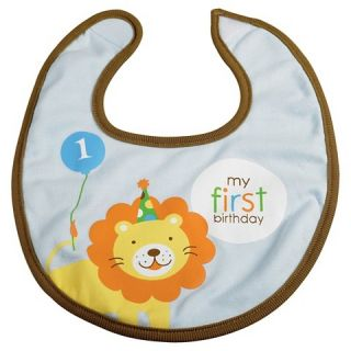 Sweet at One   Boy Bib, 1pk