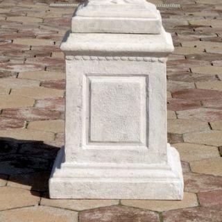 Larkin Arts and Crafts Architectural Plinth Pedestal by Design Toscano