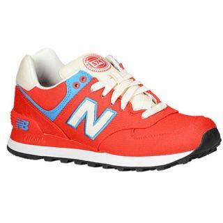 New Balance 574   Womens   Running   Shoes   Black/Guava/Grey