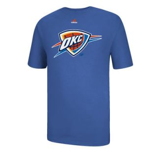 adidas Oklahoma City Thunder Resonate Over T Shirt   Light Blue