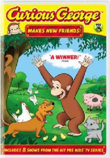 Curious George: Makes New Friends! (DVD)   Shopping   Big