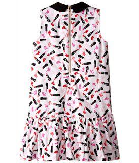 Kate Spade New York Kids Drop Waist Lipstick Dress (Big Kids) Lipstick
