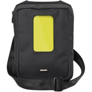 Cocoon Gramercy CGB150 Messenger Sling   Sling bag for tablet   1680D ballistic nylon   black   for Apple iPad (3rd generation); iPad 1; 2; iPad with Retina display (4th (CGB150BY)