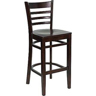 Buy Flash Furniture XU DGW0005BARLAD WAL GG Bar Stool, Walnut at