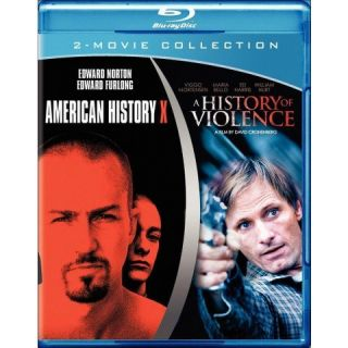 American History X/A History of Violence [Blu ray]