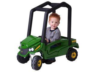 Tomy John Deere Get Around Gator Toddler Ride On Push Vehicle