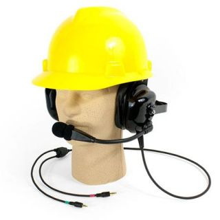 Williams Sound Dual Muff Hardhat Headset Microphone for DLT 100 Transceiver MIC 088