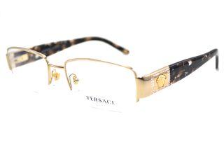 be10f2c072 ... VERSACE Eyeglasses VE 1175B 1002 Gold 53MM ...