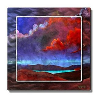 All My Walls Mountain Lake by Richard Graves Painting Print Plaque