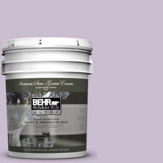 BEHR Premium Plus Ultra 5 gal. #S100 2 Romantic Poetry Semi Gloss Enamel Interior Paint 375005