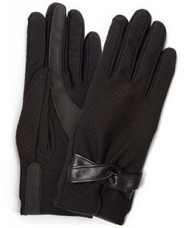 Isotoner Dobby Stretch SmarTouch Tech Gloves   Handbags & Accessories