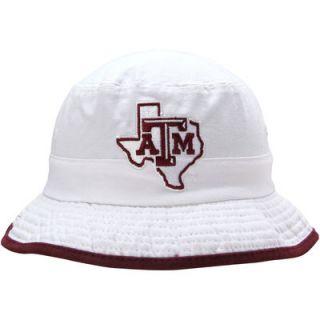 Texas A&M Aggies adidas Bucket Hat   White