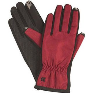Isotoner Womens SmarTouch Gloves (Red) 83164 R1SZ