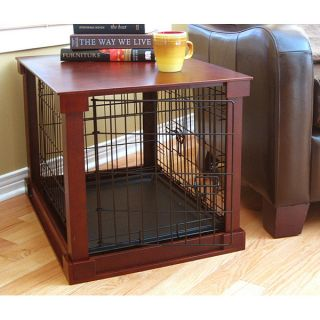 Merry Products Crate n Cage Wooden Pet Crate / Side Table   13391514