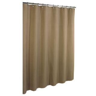 allen + roth Cotton Linen Shower Curtain