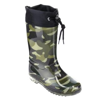 Jelly Beans GE65 Unisex Toddlers Camouflage Print Bungee Clear Heel