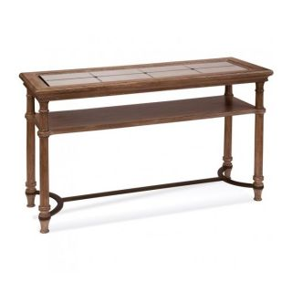 Bassett Mirror 2998 400EC Belgian Modern Galliano Console Table