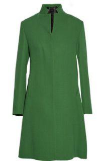 Two tone wool crepe coat  Derek Lam