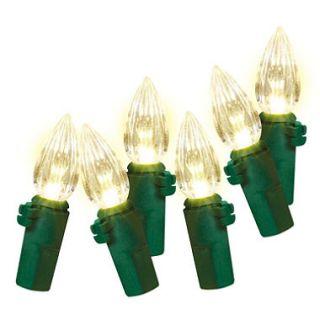 180ct LED Vertical Cut C3 Lights   Warm White