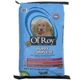Ol' Roy Puppy Dry Dog Food 15 Pound Bag