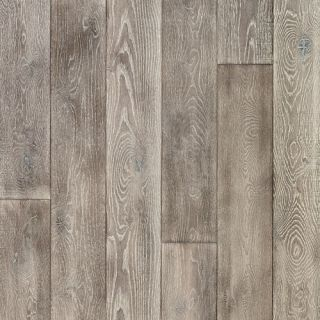 Antigua 7 White Oak Hardwood Flooring in Silver by Mannington