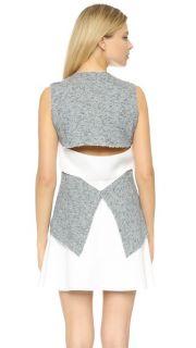 Derek Lam 10 Crosby Dress with Flared Skirt