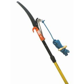 Jameson 6 12 ft. Telescoping Pole Saw with Side Cut Pruner, Blade and Rope TP 12 11