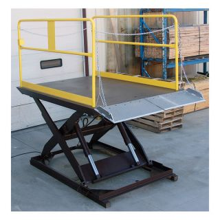Vestil Electric/Hydraulic Scissor Dock Lift  Dock Levelers   Dock Lifts
