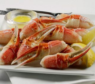 Kansas City Steaks (1) 2 lb Bag Snow Crab Claws —