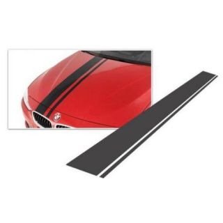 Bimmian HSTAAABAK Hood Or Trunk Or Roof Racing Matte White Berlin Style Stripe   For Any Bmw