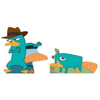 Cartoons Agent P. Perry Cardboard Stand Up