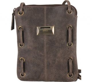 Womens Latico Berne Cross Body Bag 8925   Distressed Brown Leather