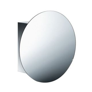 WS Bath Collections Pika 51512.29 Linea Pika 23 1 5 L Single Door Mirrored Medicine Cabinet in Stainless Steel