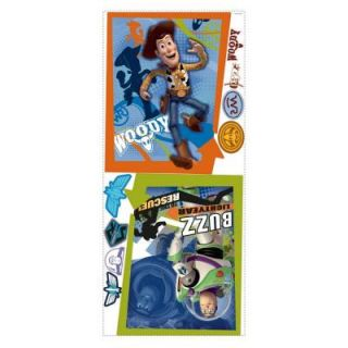 RoomMates Toy Story Buzz and Woody Peel and Stick Giant Poster RMK1495GM