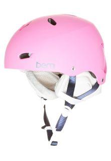 Bern BRIGHTON   Helmet   matte bubblegum pink/grey premium liner