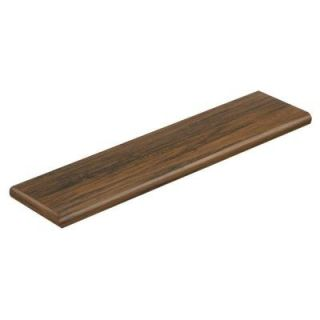 Cap A Tread Espresso Pecan 47 in. Length x 12 1/8 in. Deep x 1 11/16 in. Height Laminate Left Return to Cover Stairs 1 in. Thick 016271605