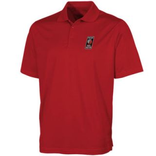 Antigua Portland Trail Blazers Pique Xtra Lite Performance Polo   Red