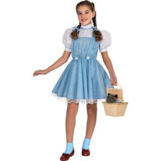 Girls Deluxe Oz Dorothy Halloween Costume