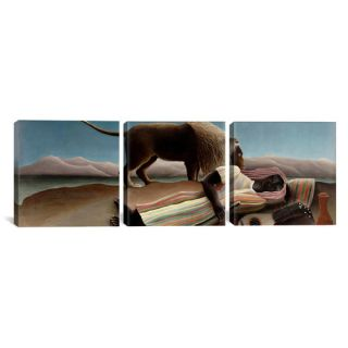 Born to Be Wild II by Leah Flores 3 Piece on Wrapped Canvas Set by