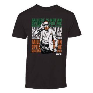 Conor McGregor UFC 194 Cartoon T Shirt   Black