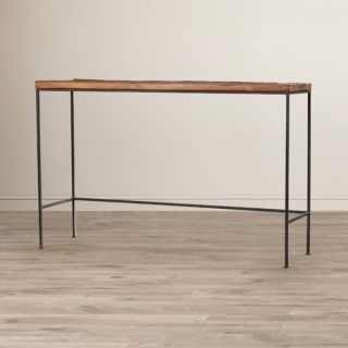 Industrial Chic Orin Console Table by Bungalow Rose