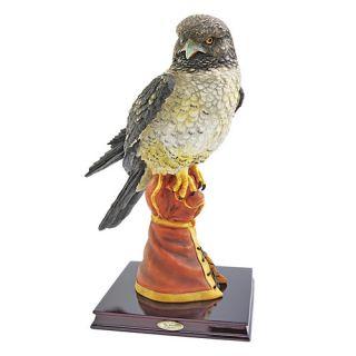Hunting Falcon Bird of Prey Figurine by Design Toscano